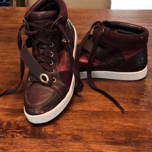 Coach Shoes - Coach High Top Sneakers